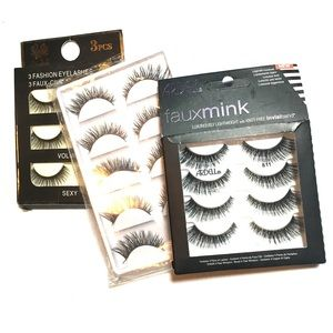Eyelashes bundle Ardell wispy light weight glam